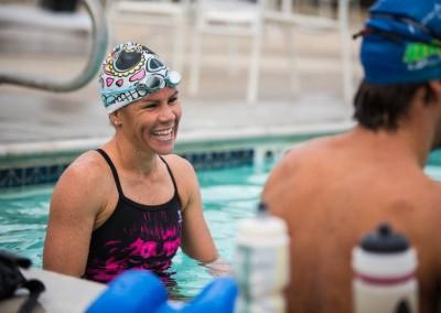 mirinda-carfrae-training-pool
